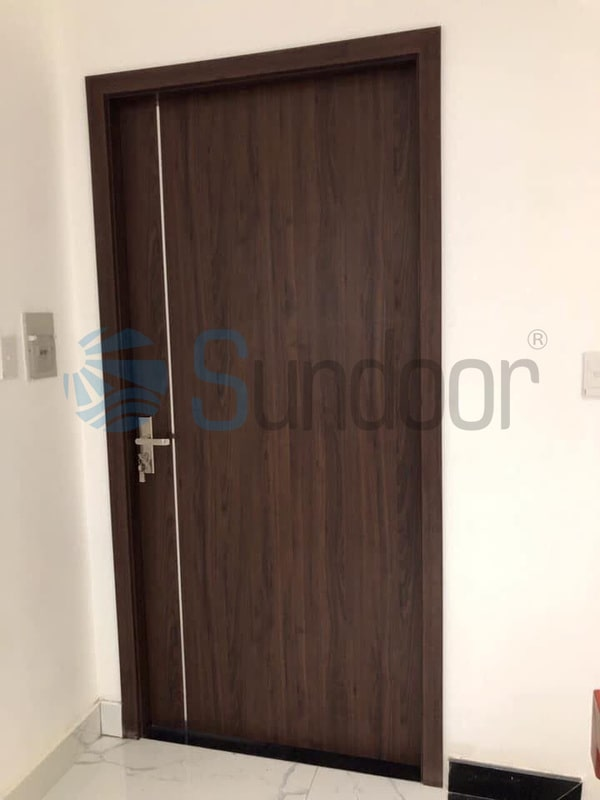 Cửa gỗ composite Sundoor-1