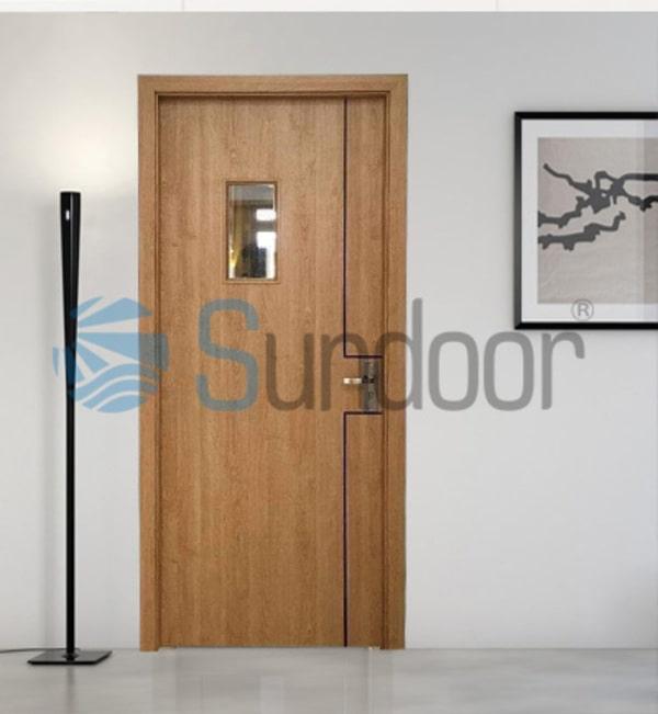 cửa gỗ Composite Sundoor-4