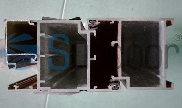 Kiểm tra độ dày cửa nhôm giúp bạn nhận biết được cửa nhôm Xingfa chính hãng và nhái