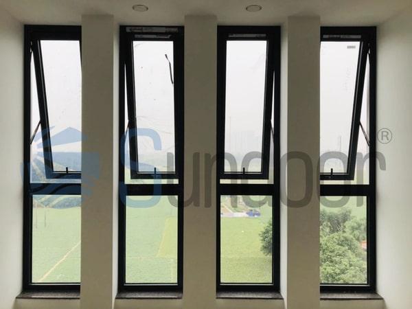 Cửa sổ nhôm kính giá rẻ tại Sundoor