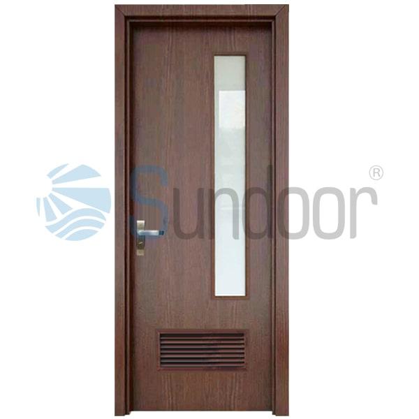 Cửa nhựa gỗ Composite mẫu nhà vệ sinh