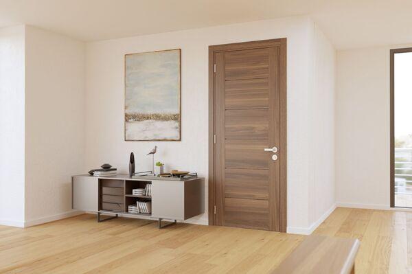 Cửa gỗ công nghiệp MDF phòng ngủ