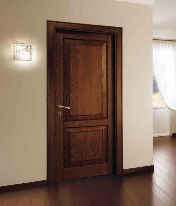 Cửa gỗ tự nhiên giúp cách âm cho phòng ngủ