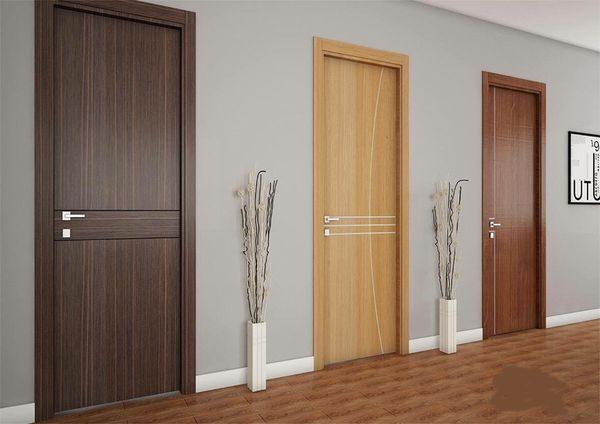 Cửa thông phòng gỗ Composite