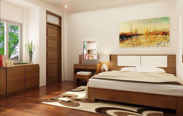 Công thức tính kích thước cửa 1 cánh phòng ngủ