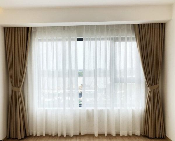 Cách âm phòng ngủ bằng cách lắp rèm
