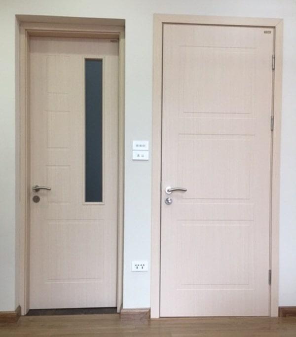 Sử dụng cửa gỗ nhựa Composite cho việc cách âm phòng ngủ
