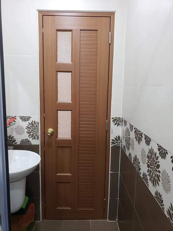 Tổng hợp các loại cửa nhựa nhà vệ sinh giá rẻ, chất lượng