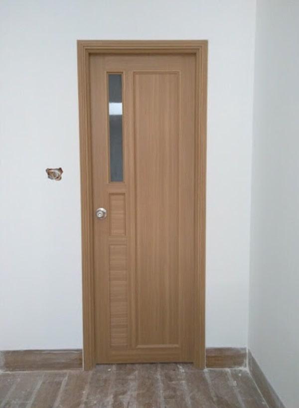 Cửa thông phòng nhựa giả gỗ PVC
