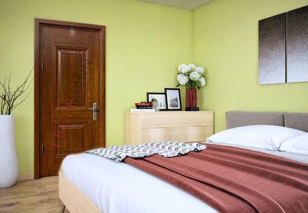 Cửa phòng ngủ mở ra hay mở vào vẫn phải đảm bảo yếu tố thẩm mỹ