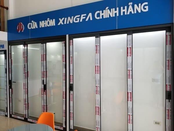 Cửa nhôm Xingfa chính hãng tại Thế giới cửa cao cấp Sundoor
