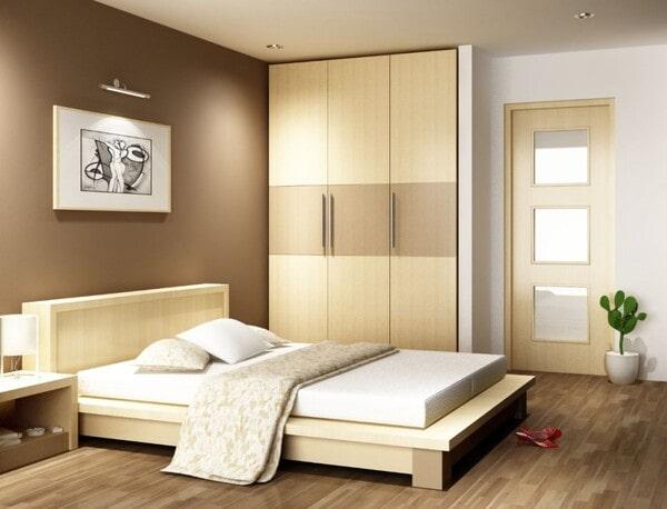 Cách khắc phục cửa phòng ngủ đối diện nhau đơn giản hiệu quả