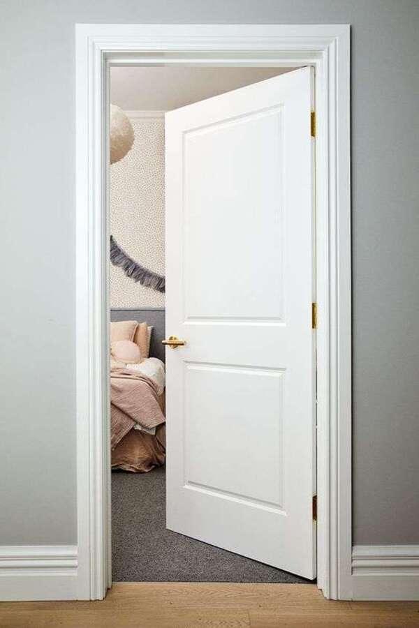 Thiết kế cửa phòng ngủ theo phong thủy