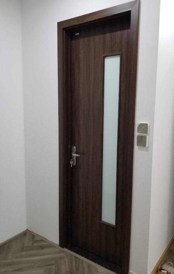Cửa gỗ nhựa Composite nhà tắm
