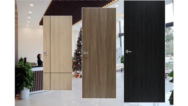 Cửa gỗ công nghiệp MDF và MDF vân gỗ